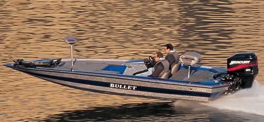 2012 Bullet Bass Boats Research