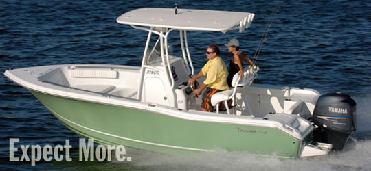 Research the new 2016  Tidewater Boats Bay Boats