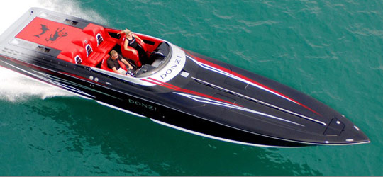 2014 Donzi Marine Boats Research