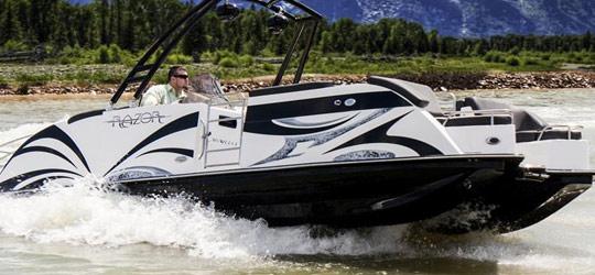 Razor Pontoon Boats Research