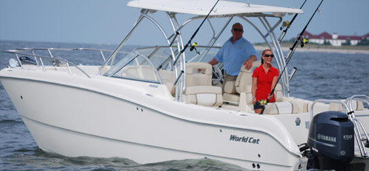 Research the new 2016  World Cat Boats