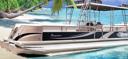 Research the new 2016  Aloha Pontoon Boats