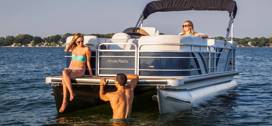 Research the new 2016  Aqua Patio Boats