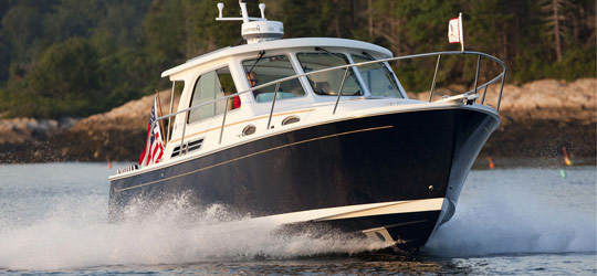 Research the new 2016  Back Cove Yachts