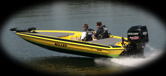 Research the new 2016  Bullet Boats Bass Boats