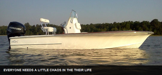 Research the new 2016  Chaos Boats