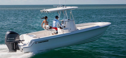 Research the new 2016  Contender Boats