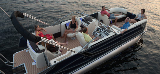 Research the new 2016  Crest Pontoon Boats