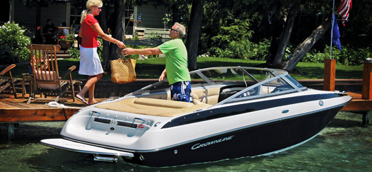 Research the new 2016  Crownline Boats Cuddy Cabins
