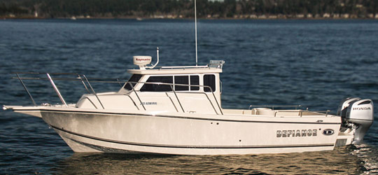 Research the new 2016  Defiance Boats