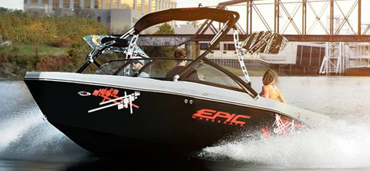 Research the new 2016  Epic Boats Bay Boats