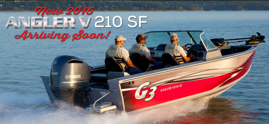 Research the new 2016  G3 Boats Deck Boats