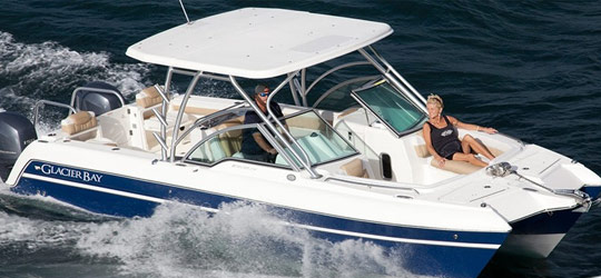 Research the new 2016  Glacier Bay Boats