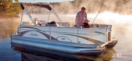 Research the new 2016  Hampton Boats