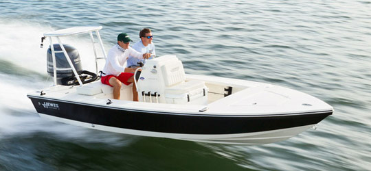 Research the new 2016  Hewes Boats Bay Boats