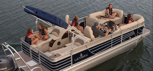 Research the new 2016  Landau Boats
