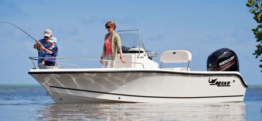 Research the new 2016  Mako Boats