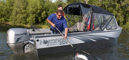 Research the new 2016  Northwest Boats