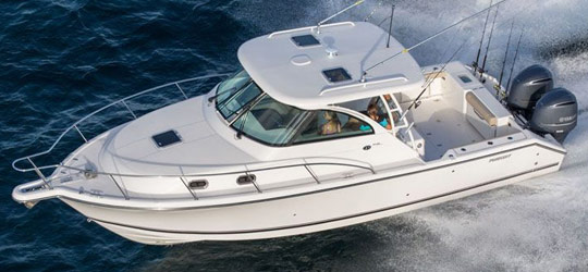 Research the new 2016  Pursuit Boats Walkaround Boats