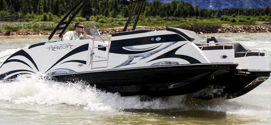 Research the new 2016  Razor Boats