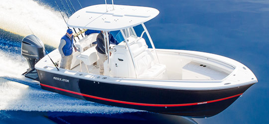 Research the new 2016  Regulator Boats Bay Boats