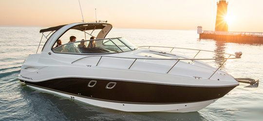 Research the new 2016  Rinker Boats Fish and Ski Boats
