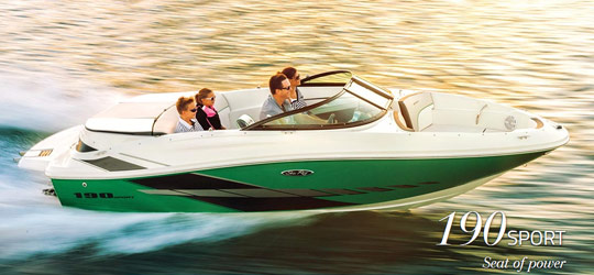 Research the new 2016  Sea-Ray Boats Cuddy Cabins