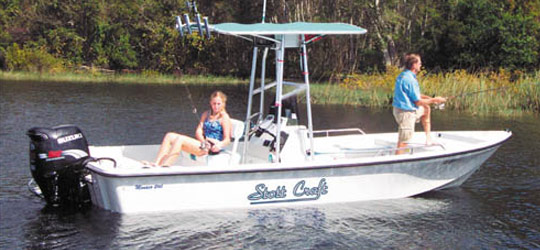 Research the new 2016  Stott Craft Boats Bay Boats