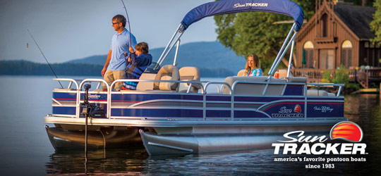 Research the new 2016  Sun Tracker Boats