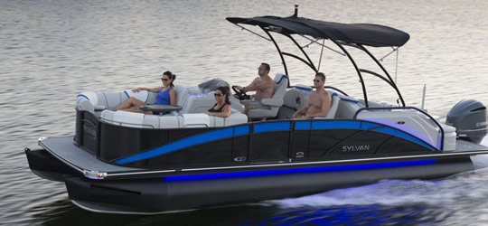 Research the new 2016  Sylvan Boats