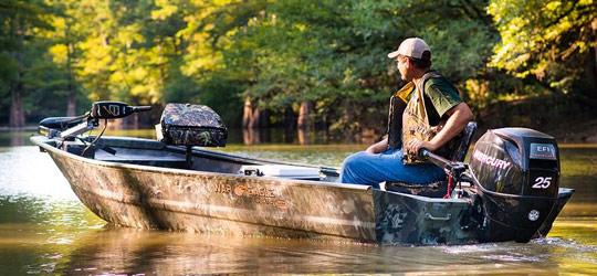 Research the new 2016  War Eagle Boats Jon Boats