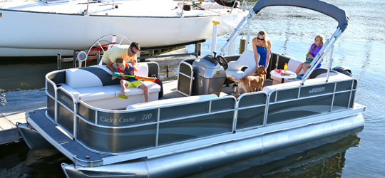 Research the new 2016  Weeres Pontoon Boats