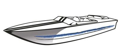 how to draw a cigarette boat