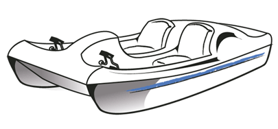 contour paddle pedal boats research