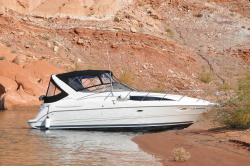 2001 Bayliner 3055 Ciera   in Slip at Lake Powell