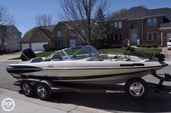 2001 21 Fish and Ski SF-21 w/ Trailer Mercury 200