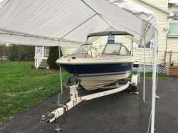 Capri with 120 hp outboard, runs