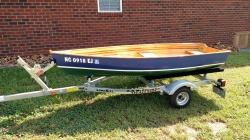 10 Custom Built Tendor Boat w/Trolling Motor