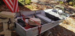 14 ft Texas Maid Aluminum Fishing Boat