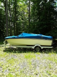 Cobalt motor boat