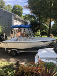 2004 Boston Whaler Dauntless 180