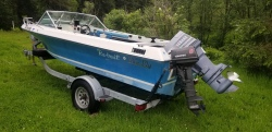 1979 Glasply 17.5 Foot Runabout Fisherman
