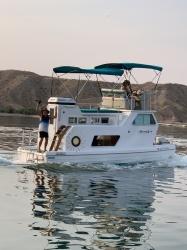 rare-1979-steury-houseboat boat image