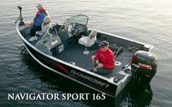 2010 - Alumacraft Boats - Navigator 165 Sport