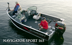 2010 - Alumacraft Boats - Navigator 165 Tiller
