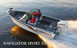 2010 - Alumacraft Boats - Navigator 175 Tiller