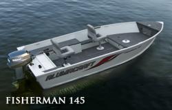 2010 - Alumacraft Boats - Fisherman 145 Tiller