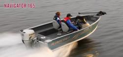 2012 - Alumacraft Boats - Navigator 165 CS