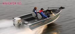 2012 - Alumacraft Boats - Navigator 165 Tiller