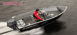 2012 - Alumacraft Boats - Fisherman 145 Tiller